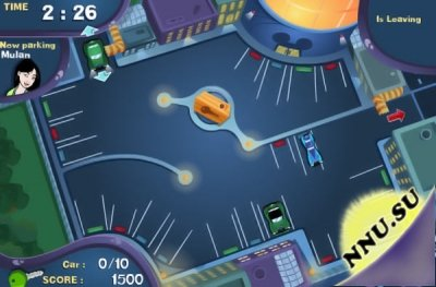 Pack the House - Parking Packers (флеш игра)