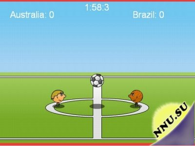 1 on 1 Soccer (флеш игра)