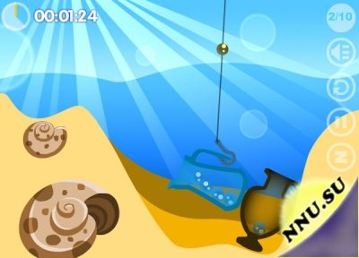 Seabed Cleaner (флеш игра)